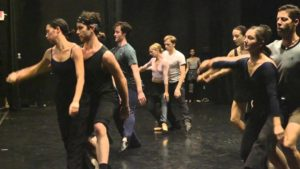 "Rehearsals for ""Girls Just Wanna Have Fun"" by James Kudelka"