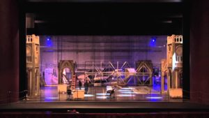Romeo and Juliet Set Build Time Lapse