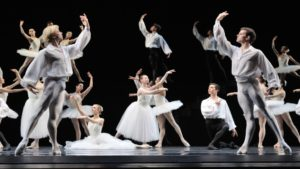 "SF Ballet in ""Suite En Blanc"""