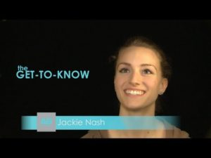 The GET-TO-KNOW: an interview with JACKIE NASH