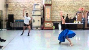 The Nutcracker Rehearsal: Spanish Variation (Kramer and Hansel)