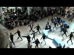 Triple Excellence flashmob Gallerian Stockholm
