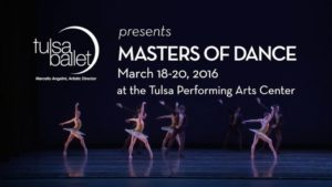 Tulsa Ballet presents 'Masters of Dance'