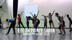 Viktor Plotnikov's eye on pointe taken in New Works