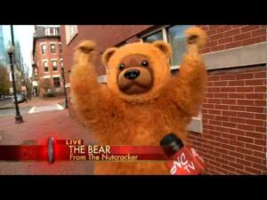 WHDH Vignette with The Nutcracker Bear