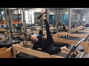 Monday Motivation – Hip Stretches on the Pilates Reformer