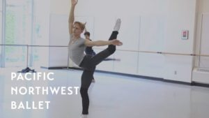 Opus 19/The Dreamer rehearsal – ft. Dylan Wald (Pacific Northwest Ballet)