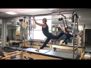 Monday Motivation – Pilates Cadillac Trapeze Table