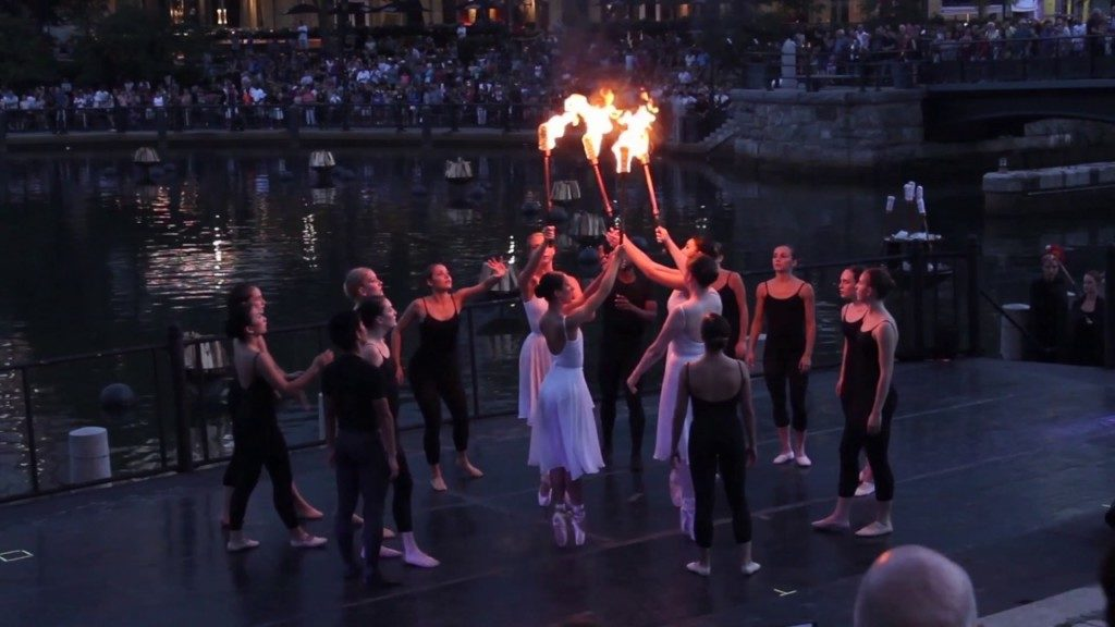 Summer Dance Intesive Performs at Waterfire