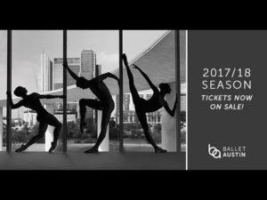 The Making of Ballet Austin's 2017/18 Season Campaign