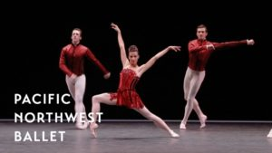 George Balanchine's Rubies – Tall Girl excerpt ft. Lindsi Dec