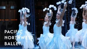 George Balanchine's The Nutcracker® – Waltz of the Snowflakes Backstage
