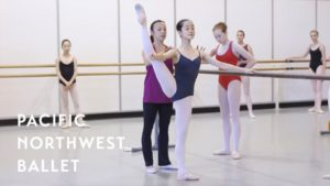 Ballet Technique Class Level VI – PNB's Summer Course 2017