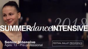 Summer Dance Intensive 2018 Preview