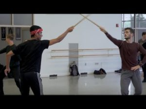 INSIDE LOOK | Sword Fighting in Romeo & Juliet