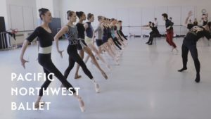 Crystal Pite's Emergence rehearsal (Pacific Northwest Ballet)