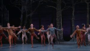 2018 Houston Ballet Swan Lake – Act 1, Prince Siegfried and His Friends