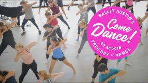 Come Dance 2018 – Ballet Austin's Free Day of Dance