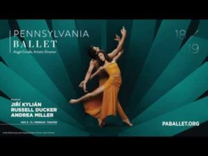 Pennsylvania Ballet's November Program