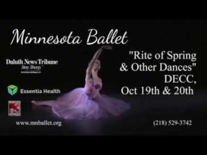 Minnesota Ballet fall 2018 30 sec tv