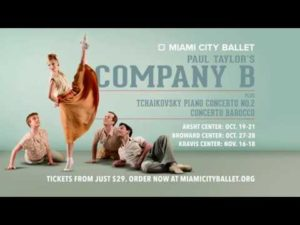 Season Opens featuring Paul Taylor's Company B