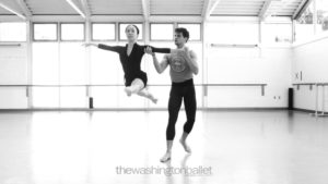 The Washington Ballet in Merce Cunningham's Duets