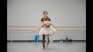 Aaron Anker and So Jung Shin Rehearse for Nutcracker