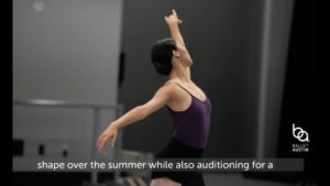Ballet Austin's Summer Intensive – Professional Opportunities