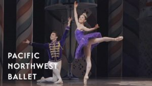 Sugar Plum Fairy & Cavalier in George Balanchine's The Nutcracker®