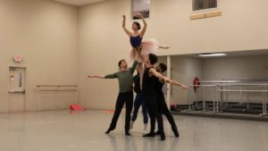 Cincinnati Ballet Rehearses for The Sleeping Beauty