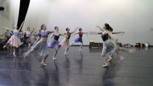 Ladies in Rehearsal for The Sleeping Beauty