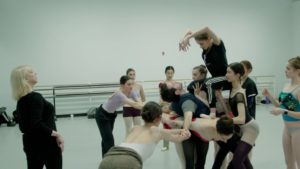 "Diana White talks about Jerome Robbins' ""The Cage"""