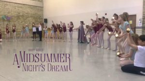 A Midsummer Night's Dream – Student Rehearsal