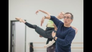 """Pennsylvania Ballet In the Studio with Jeane-Pierre Frohlich and """"Glass Pieces"""""""
