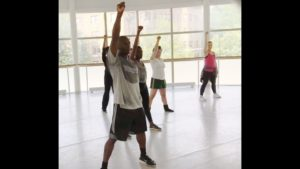 Street Jazz for Adults with Maurice Johnson at The Washington School of Ballet