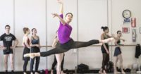 Company Class with Pacific Northwest Ballet