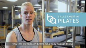 Meet Tony, Athelte and Pilates Student at Ballet Austin