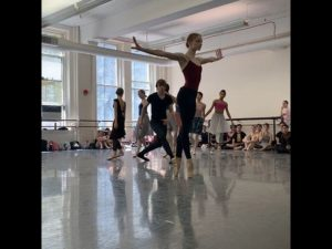 Ratmansky Trio Rehearsal – The Seasons World Premiere