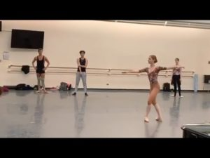 Soloist Catherine Hurlin in Alexei Ratmansky's World Premiere
