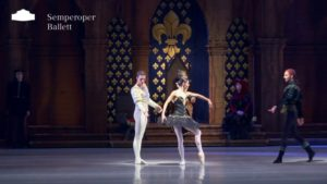 »Swan Lake«  Black Swan Trío – Semperoper Ballett