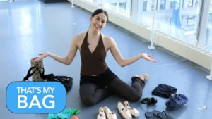 Take a Look Inside Olivia Tang-Mifsud's Dance Bag