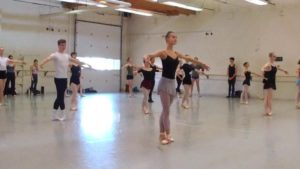 BalletMet Summer Intensive Class with Edwaard Liang