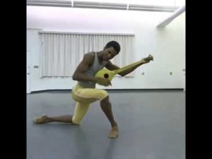 Calvin Royal III Rehearsing George Balanchine's Apollo