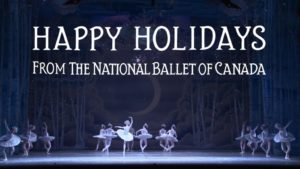 Happy Holidays from The National Ballet of Canada