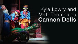Kyle Lowry and Matt Thomas as Cannon Dolls | The National Ballet of Canada
