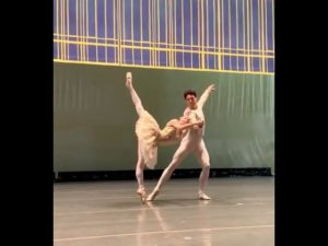 Nutcracker Pas de Deux Rehearsal – Christine Shevchenko and Thomas Forster