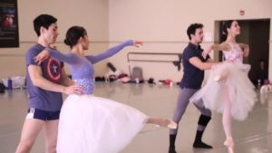 Rehearsal for Giselle in Studio C