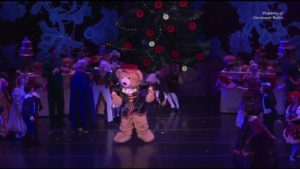 The Nutcracker's Dancing Bear!