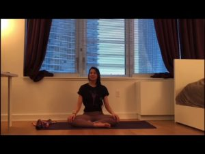 Stretching with Crystal Serrano